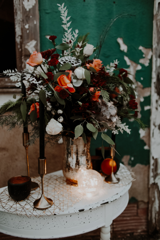 Winter Styled Shoot - Bridals (Branum's Variety Store | Minco, OK)